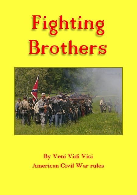 Fighting Brothers ACW rules cover