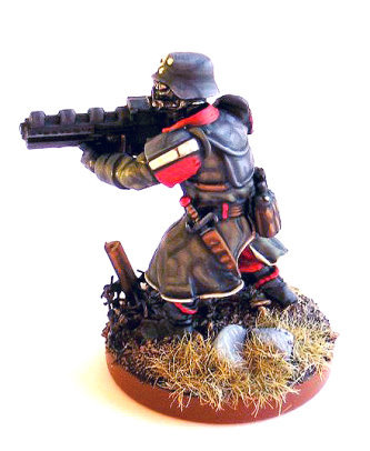 Wargames Factory shock trooper side view