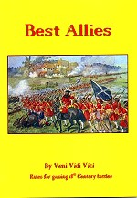 Best Allies 18th land warfare rules - price �8.00 including postage