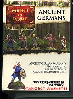 ancient German infantry pack